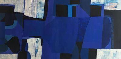 Keiko Gonzalez, 'blue', 2016