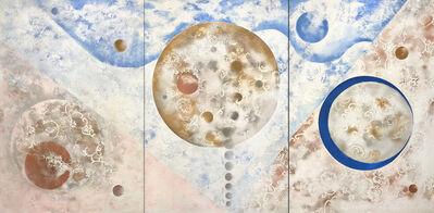 Kiyomi Baird, 'Beginnings II, Triptych', 2018
