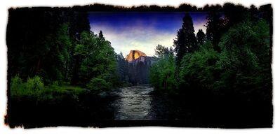 David Glick, 'Half Dome 3'