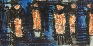 Herbert Siebner, 'Waiting at Night', 1959