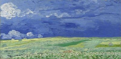 Vincent van Gogh, 'Wheatfield under Thunderclouds', 1890