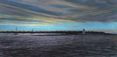 Doug Zider, 'Twilight - Edgartown Harbor', Active Contemporary