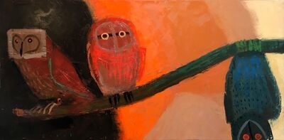 Jonathan Sobol, 'Owl with the Soul of a Bat', 2018