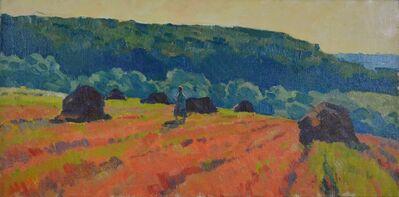 Aleksandr Timofeevich Danilichev, 'Red fields', ca. 1975