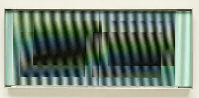 Carlos Cruz-Diez, 'Chromointerference Manipulable Marion C', 2010