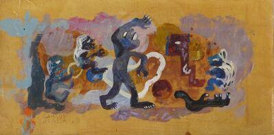 Carlos Merida, 'Ritual Kukulcan,Ca.', 1945