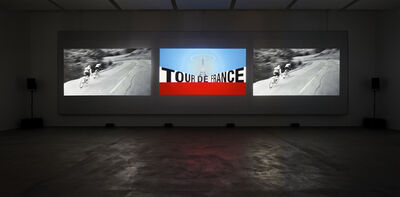 Kraftwerk, '3-D Video-Installation - 1 2 3 4 5 6 7 8, Installation View Sprüth Magers Berlin', 2013