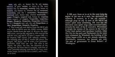 Joseph Kosuth, 'Titled (Art as Idea as Idea) (west)', 1968