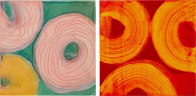 Marylyn Dintenfass, 'Two works: (i) Akee; (ii) Persimmon', (i) 2008; (ii) 2004