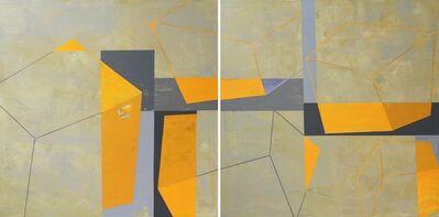 Heny Steinberg, 'Yellow Sky (Diptych)', 2016
