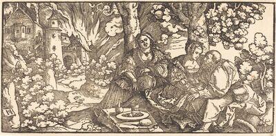 Hans Schäufelein the Elder, 'Lot and His Daughters', ca. 1530