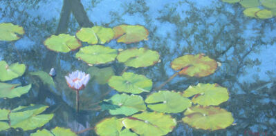 Ella Yang, 'Waterlily with Forked Branch Reflection, Spring', 2017