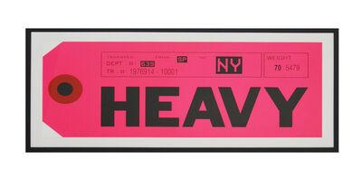 Abidiel Vicente, 'Heavy', 2015