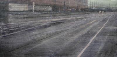 ALEJANDRO QUINCOCES, 'Lluvia en la carretera', 2019