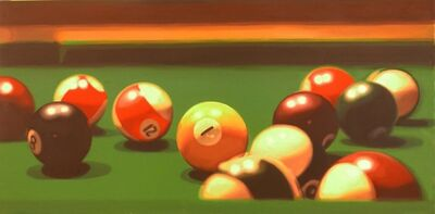 Tritan Braho, 'Pool Hall', 2016