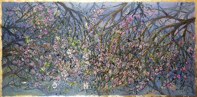 Bruno Zupan, 'Almond Blossom - Panel ', 2015