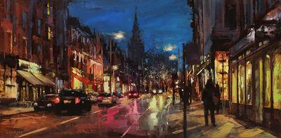Lindsey Kustusch, 'Winter Walk in North London', 2020