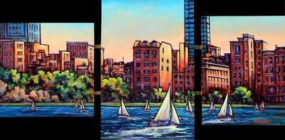 Lou O'Keefe, 'Summer on The Charles', ca. 2014