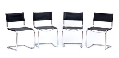 Mart Stam, 'Series of for chairs'
