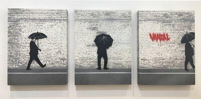 Nick Walker, 'Vandal Triptych (Original Canavas Triptych)', 2005