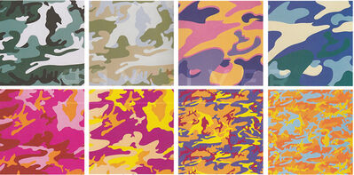 Andy Warhol, 'Camouflage, Complete Portfolio (FS II.406-413) ', 1987