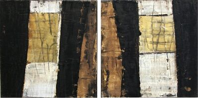 Edith Konrad, 'Untitled Diptych', 2010