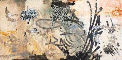"""José Parlá, 'Soy Guogiro """"Vivo en el Monte y Tango un Sitio en la loma""""', 2004"""