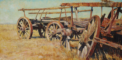 Charles Bush, 'Wheels of the Wimmera', 1971