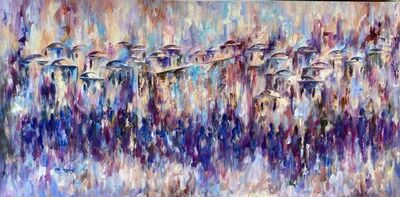 Ora Nissim, 'Jerusalem in Purple', 2020