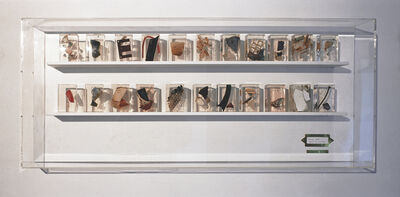 Sue Williamson, 'District Six: Museum Case # 1, Constitution St', 1993