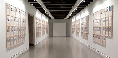 Andrea Canepa, 'TODAS LAS CALLES DEL AÑO. 365 drawings', 2012