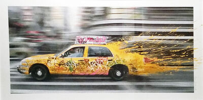 Mr. Brainwash, 'Going to NY', 2014
