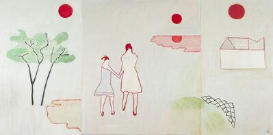 Anne Rothenstein, 'Two Girls Three Moons ', 2019