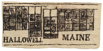 James Castle, 'Untitled (Hallowell Maine)', n.d.