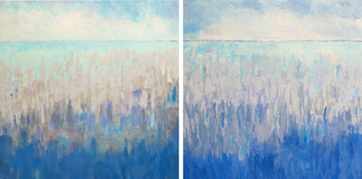 Dana Goodfellow, 'Summer Horizon (Diptych)', 2019