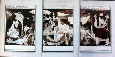 Ken Solomon, 'Google Portrait – Guernica (triptych)', 2012