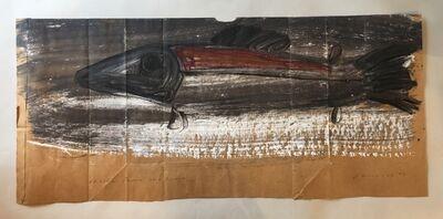 Jay Steensma, 'Charlie Parker as a Salmon', 1993