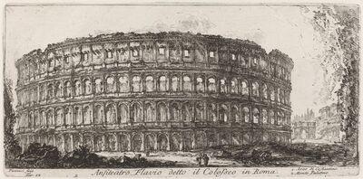 Giovanni Battista Piranesi, 'Anfiteatro Flavio detto il Colosseo', 1748