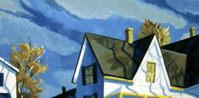 Philip Koch, 'Morning at the Route 6, Eastham House II'