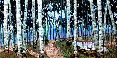 Haiou Liu, 'Birch I', 2014