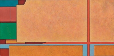 Gunther Gerzso, 'Naranja-Verde-Azul', 1978