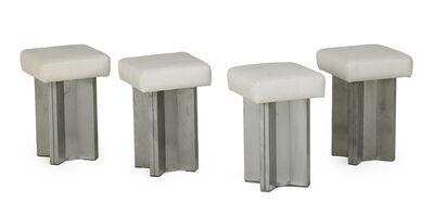 Maison Jansen, 'Set of four stools', 1970s