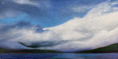 Nora Charney Rosenbaum, 'Cloud Covering Seydisfjordur Island', 2019
