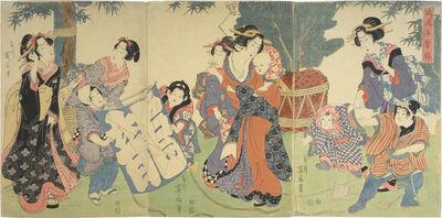 Kikukawa Eizan, 'Modern Children at Play', ca. 1814-17