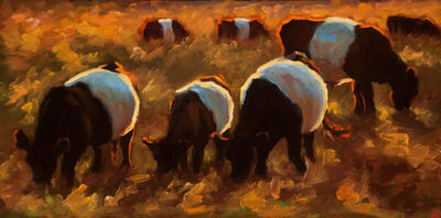 Cheri Christensen, 'Grazing in Katama', 2018