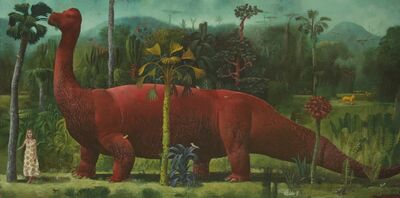 Sylvain Lefebvre, 'Balade with a young dinosaure', 2021