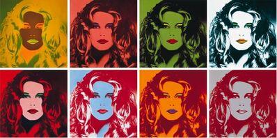 Gunter Sachs, 'Hommage à Warhol (Claudia Schiffer)', 1991