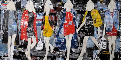 Jane Maxwell, 'Billboard Walking Girls'