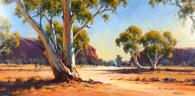 Ted Lewis, 'Fires in The Todd River (Alice Springs)'