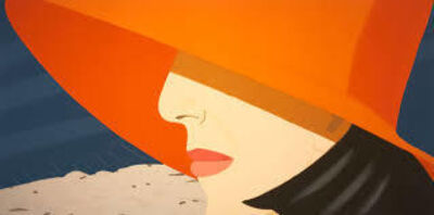 Alex Katz, 'Orange Hat', 1990